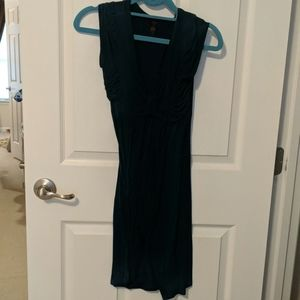 Teal Juniors Sleeveless Mid Length Dress Small